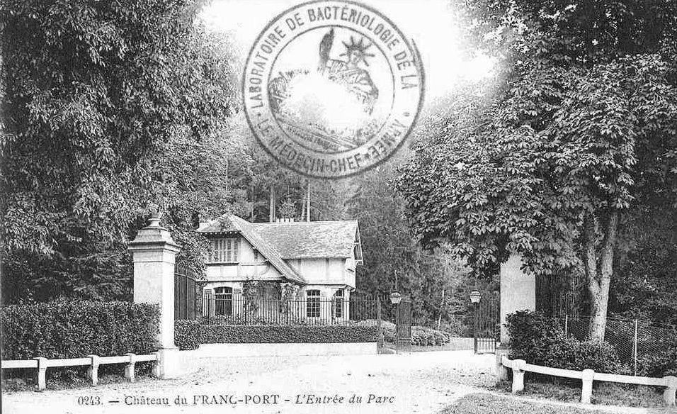Album - le village du Francport (Oise), le château de Sainte-Claire