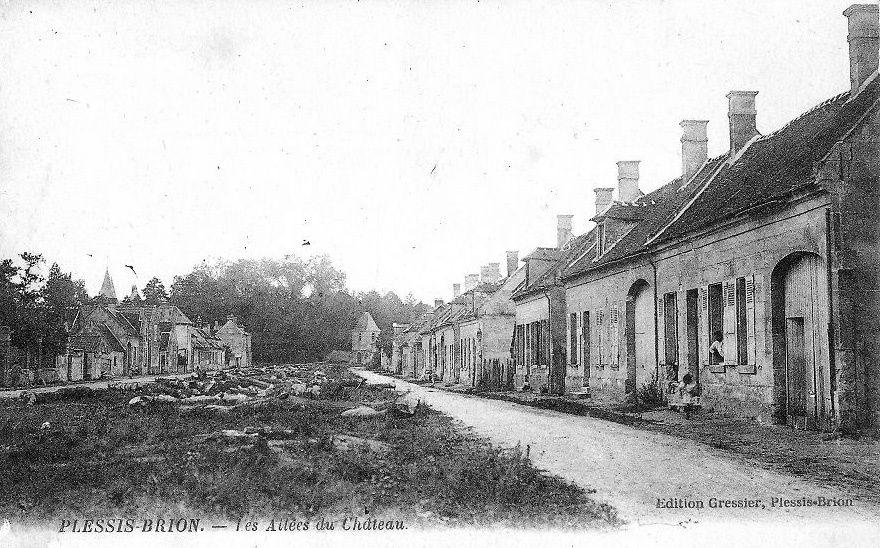 Album - le village le Plessis Brion (Oise), les rues