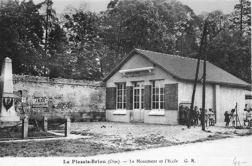 Album - le village le Plessis-Brion (Oise), les écoles