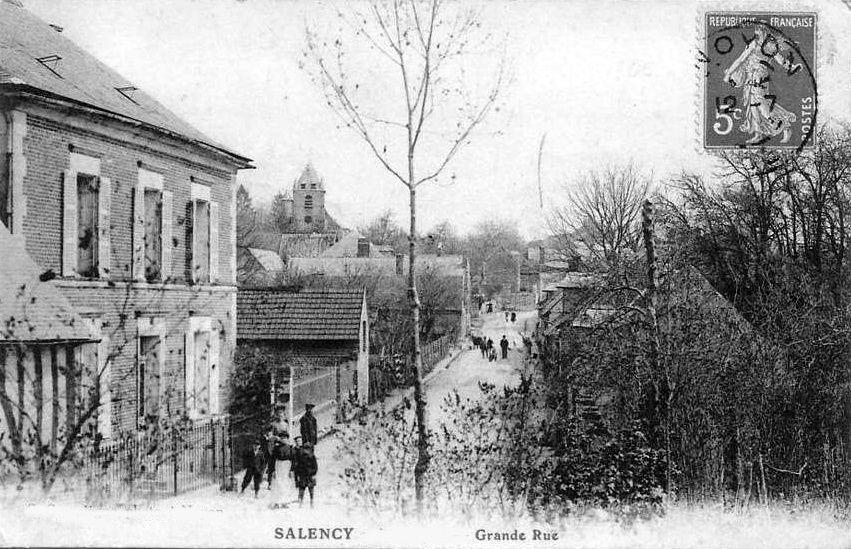 Album - le village de Salency (Oise), les rues