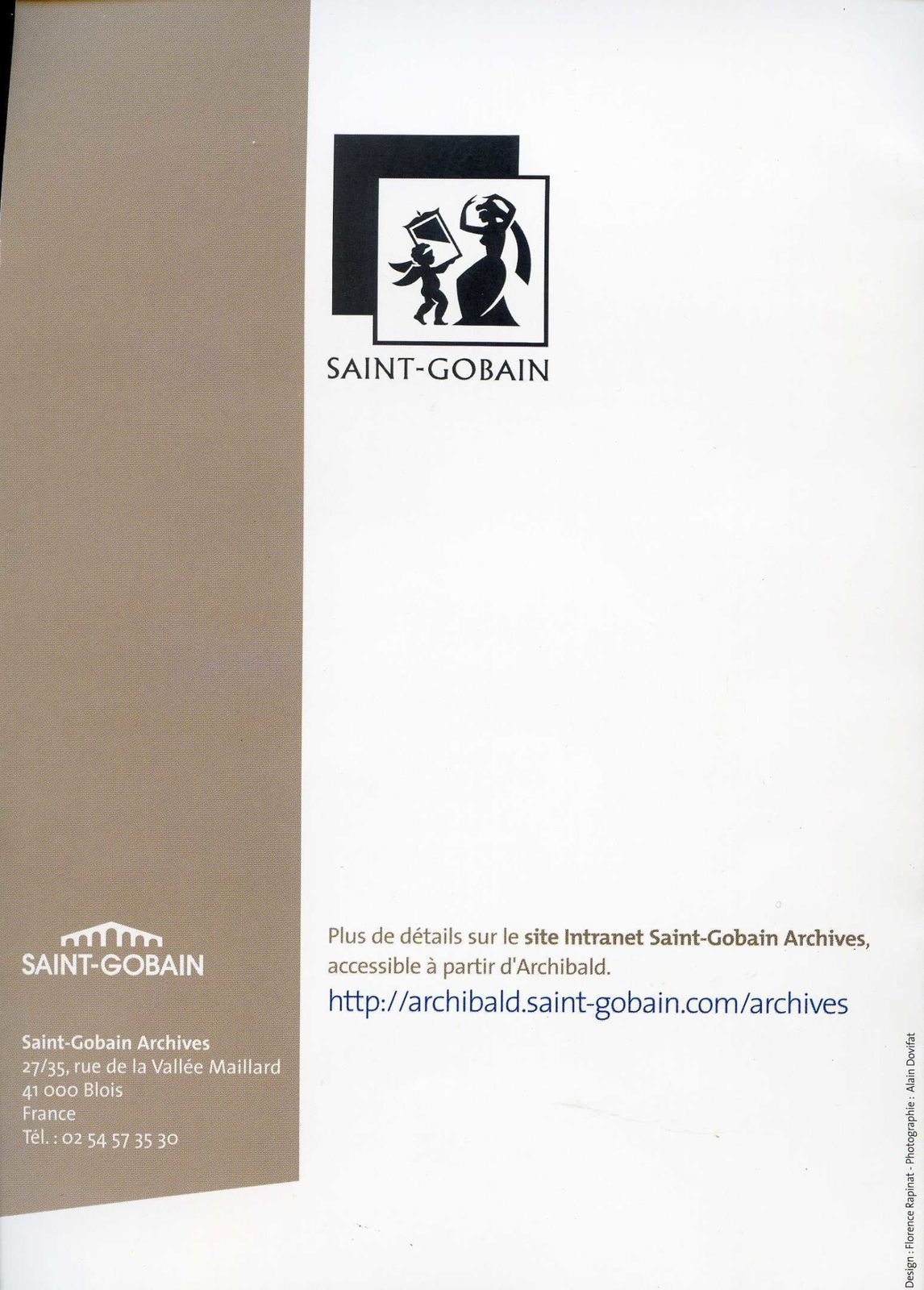 Album - groupe Saint-Gobain, les archives de Saint-Gobain à Blois