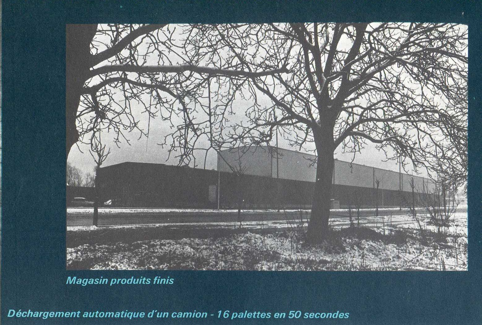 Album - groupe Saint-Gobain, les usines de Chambéry, Vétrotex