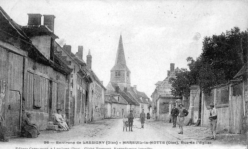 Album - le village de Mareuil la Motte (Oise)