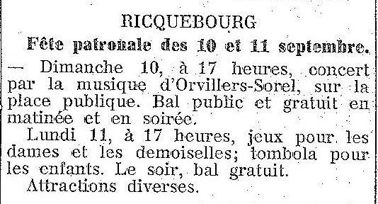 Album - le village de Ricquebourg (Oise)