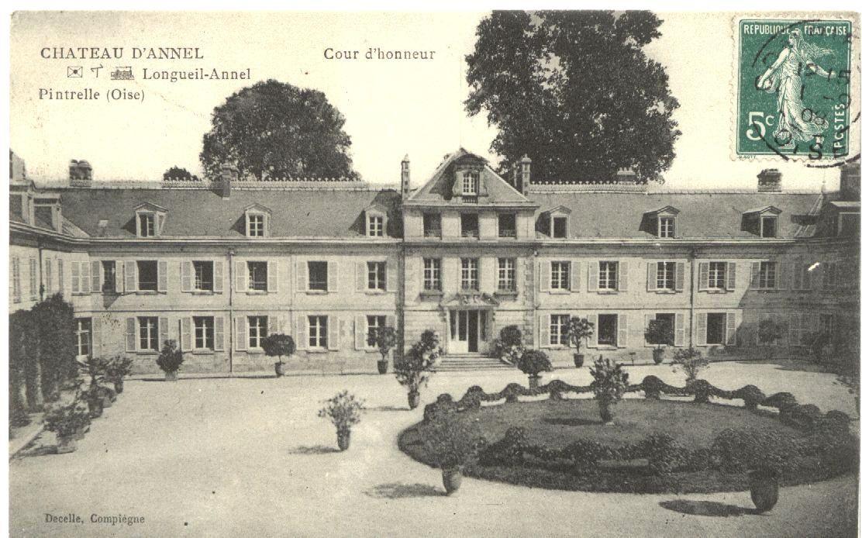 Album - le village de Longueil-Annel (Oise, le Chateau d'Annel