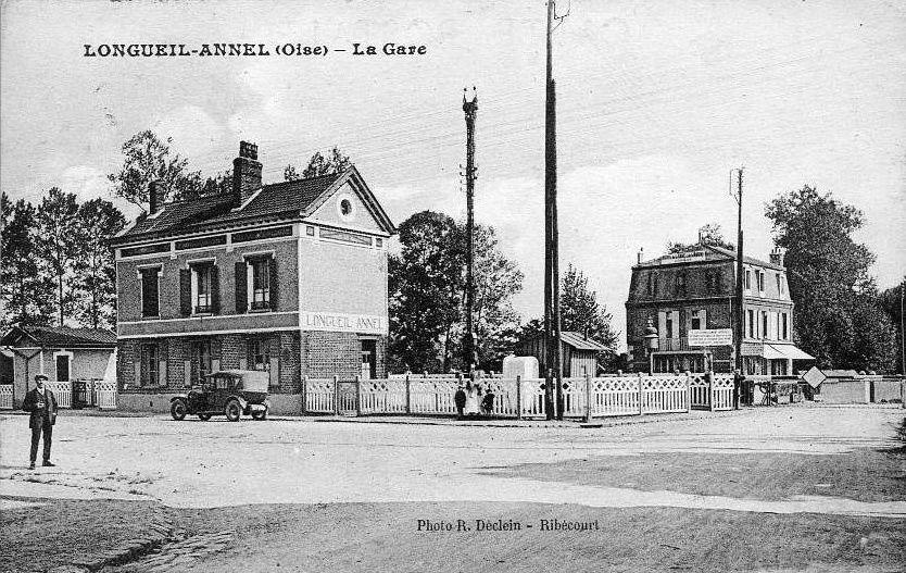 Album - le village de Longueil-annel (Oise), la gare