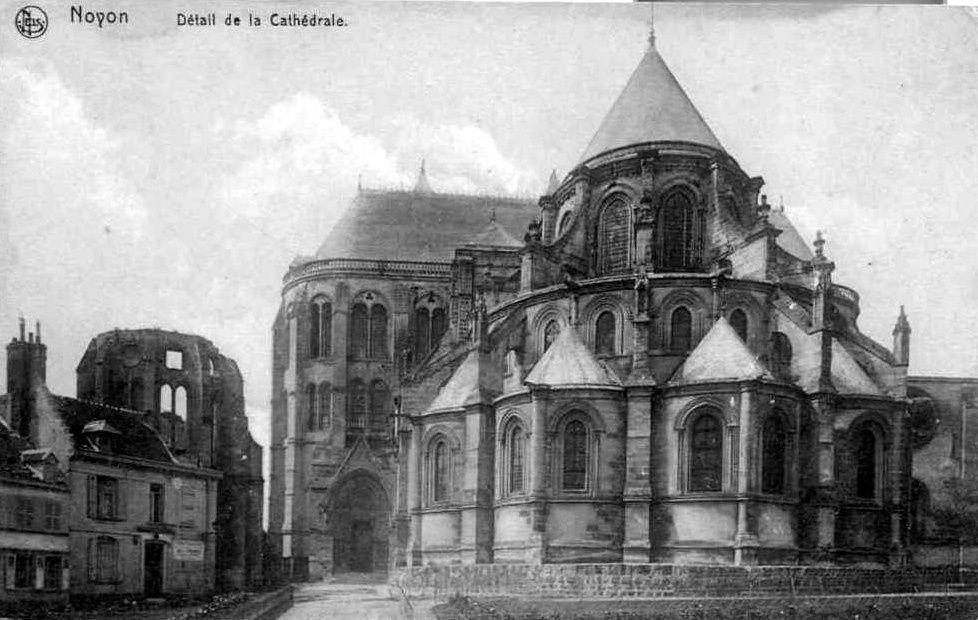 Album - la ville de Noyon, (Oise), la cathédrale