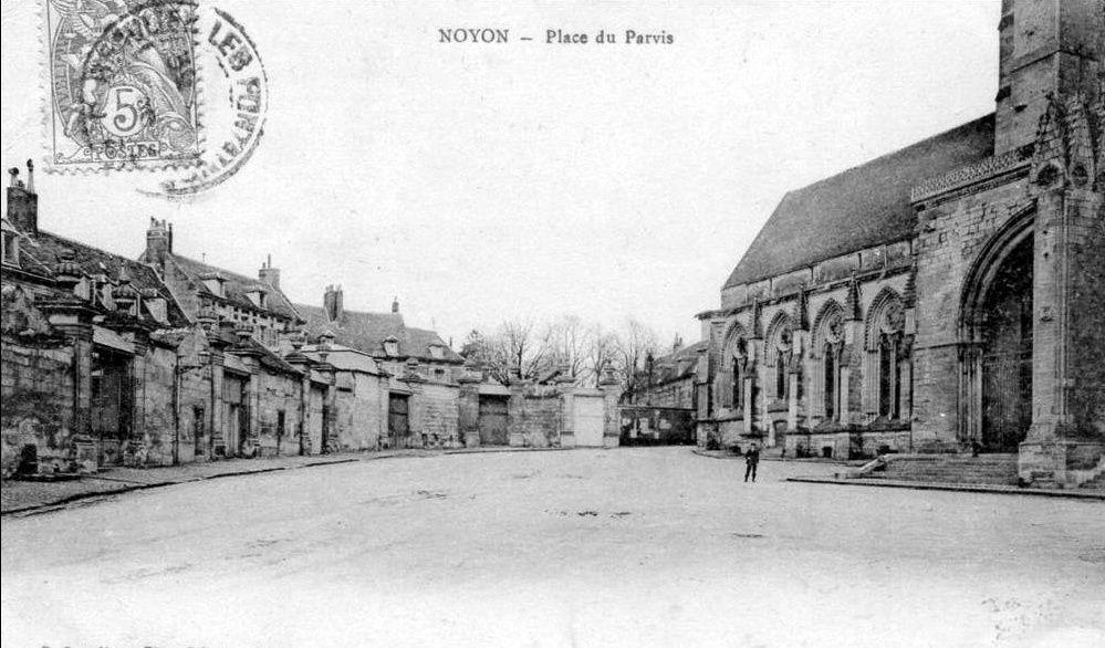Album - la ville de Noyon, (Oise), diverses places