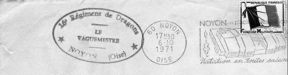 Album - la ville de Noyon (Oise), la caserne et garde mobile,