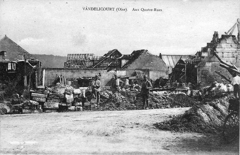 Album - le  village de Vandelicourt (Oise)