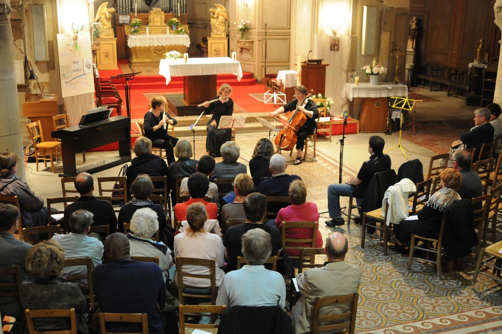 Retour sur le concert de musique de chambre comit des for Bach musique de chambre