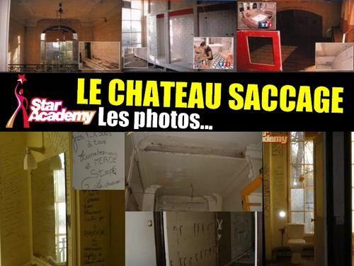 Star academy le chateau saccage par la prod le blog qui derange - Chateau de la star academy ...