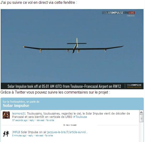 Solar Impulse on air 12 07 24