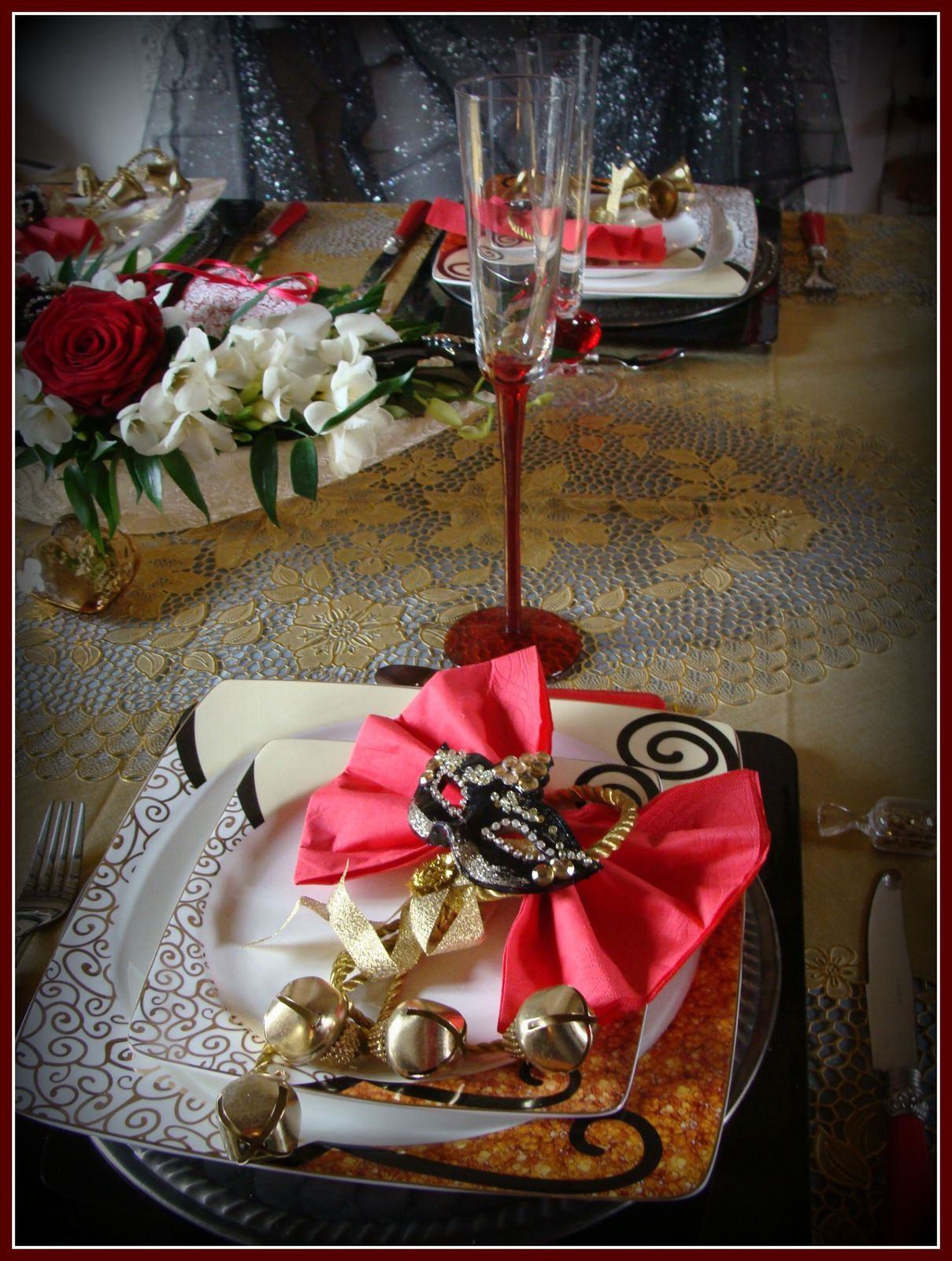 Table Saint Valentin en ce qui concerne table saint-valentin a venise - le blog de escargotine