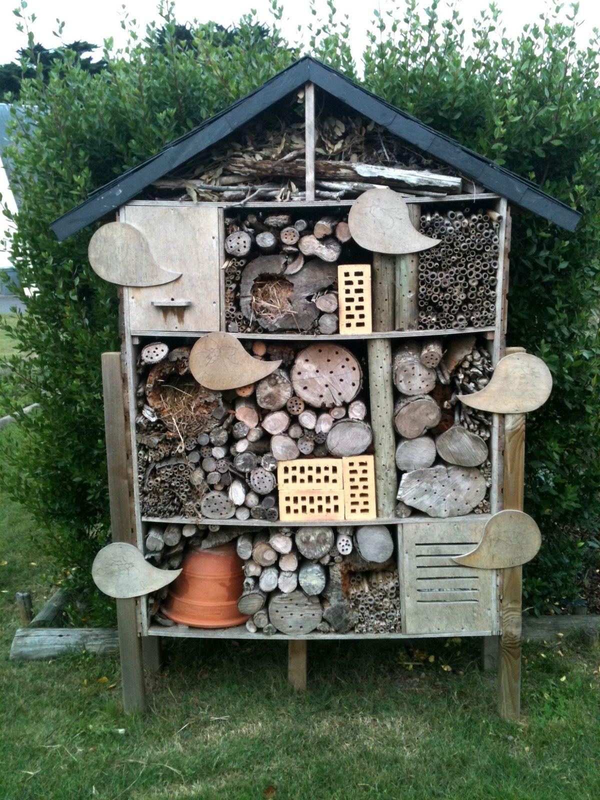 H tel insectes suite nos jardins et nos balades for Qu est ce qu un plan du site pour une maison