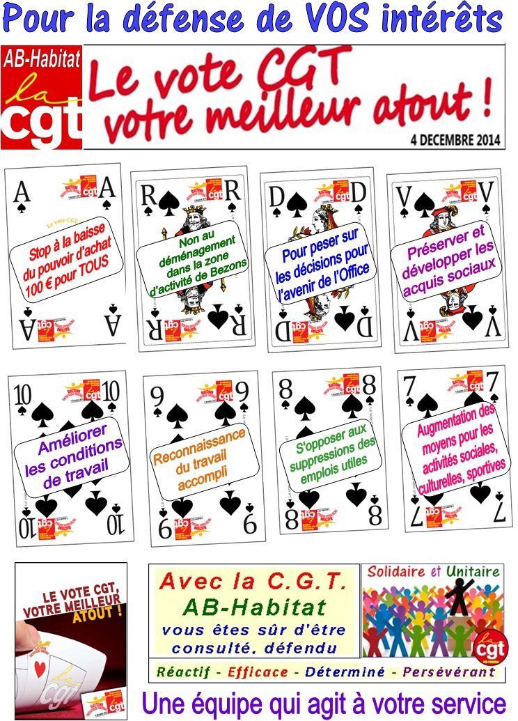 Vote CGT meilleur atout