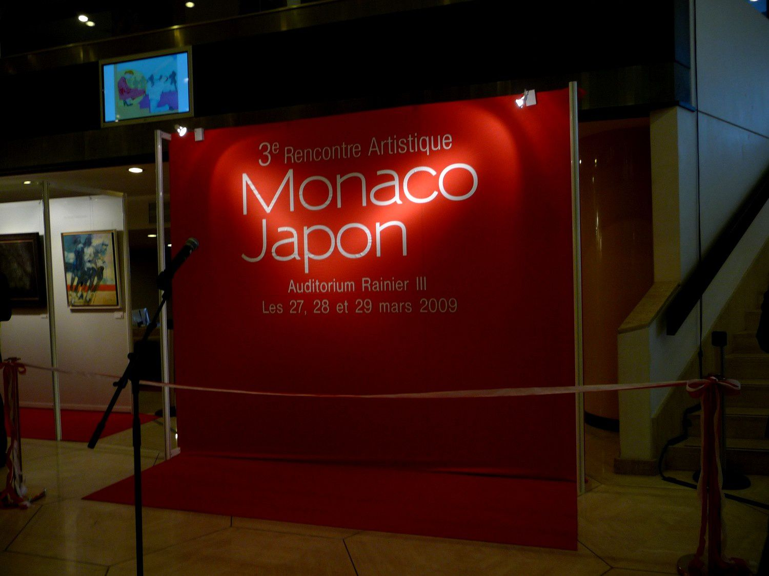 Rencontre monaco japon