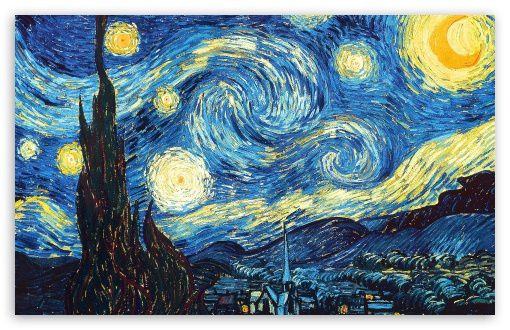the starry night-t2