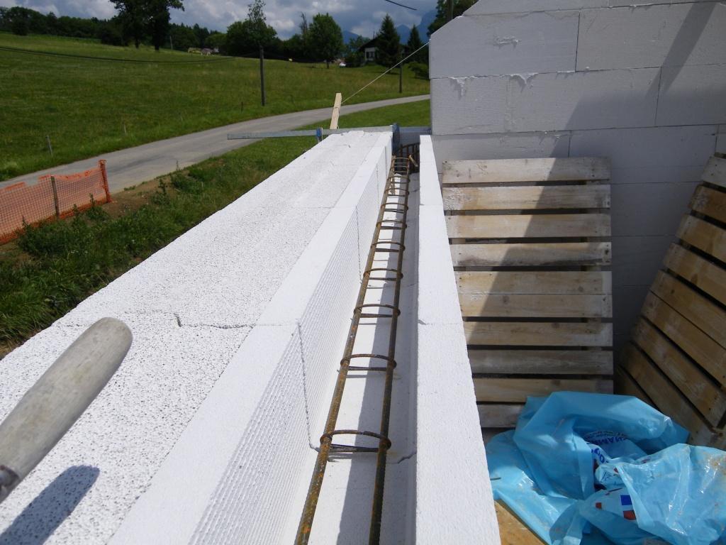 Maison bloc beton bloc btonbois cologique isolation - Maison en beton cellulaire ...