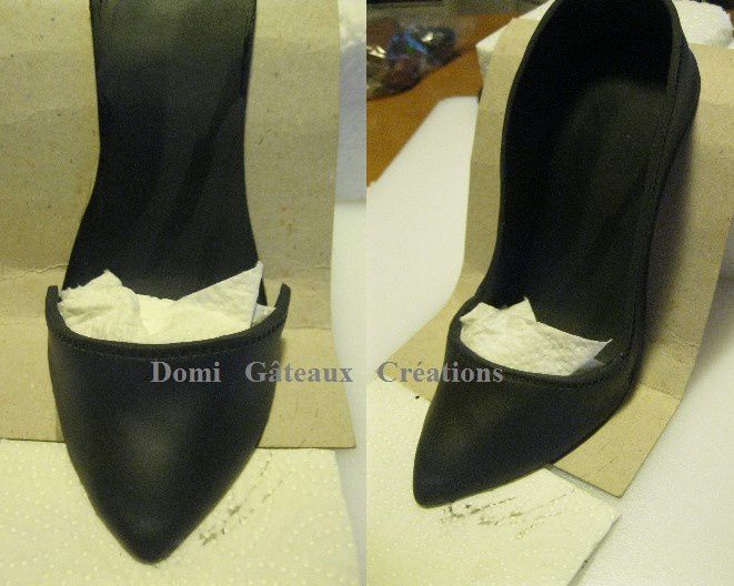 chaussure louboutin pate a sucre tuto