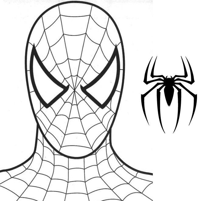 Dessin spiderman simple - Spider man en dessin ...