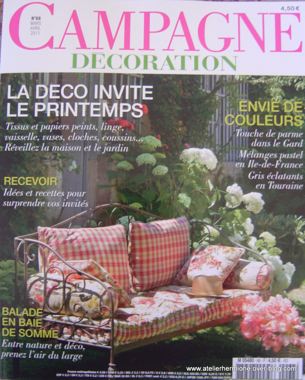 Campagne d coration n 68 atelier hermione for Campagne decoration