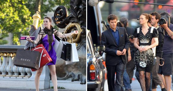 photos gossip girl tournage paris