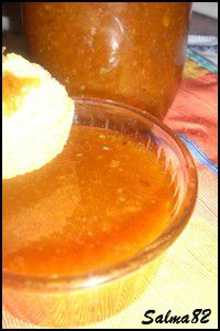 Confiture d'orange et fraise2