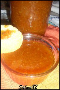 Confiture d'orange et fraise3