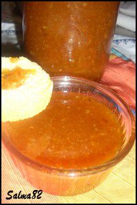 Confiture d'orange et fraise4