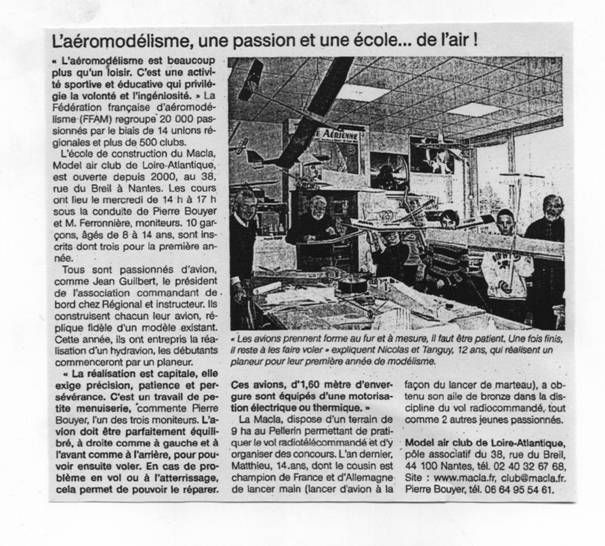 Ouest France 15-04-11