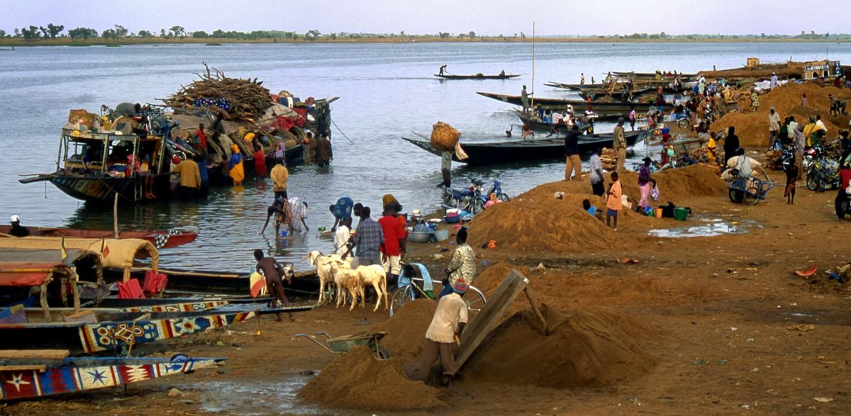 07-Segou Mali - Fleuve Niger - le port
