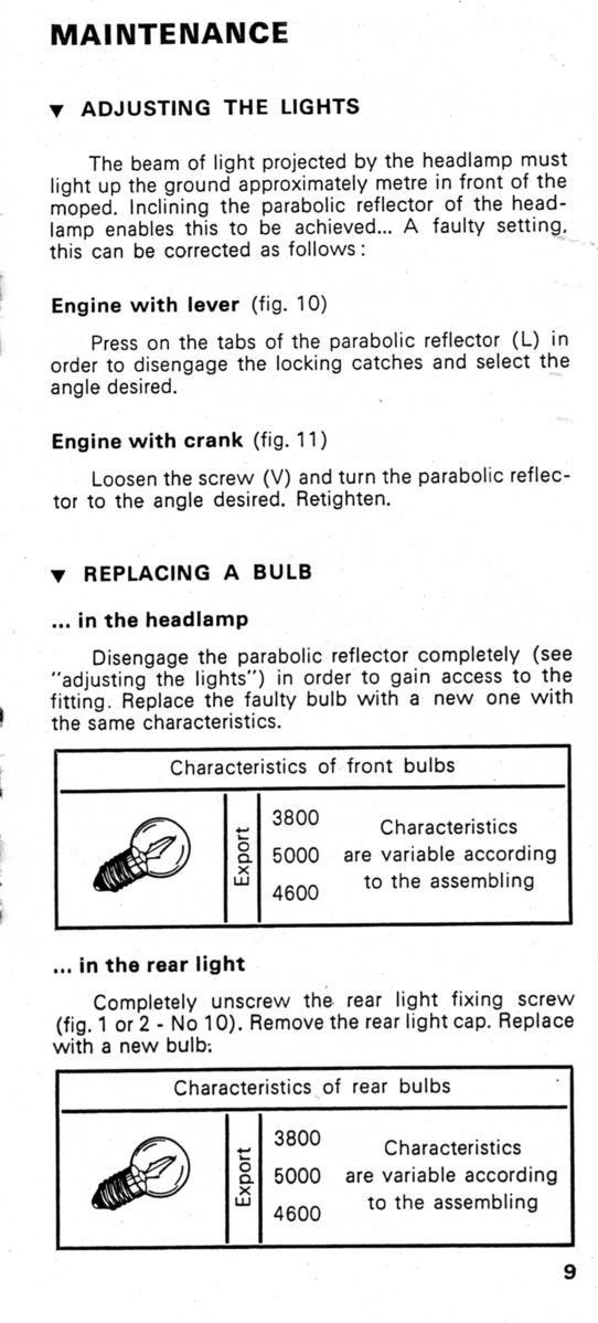 Velosolex Solex 4600 V1 Owner\'s Handbooks - Velosolex Solex 4600 by ...