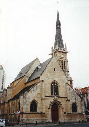 Eglise Saint Rémy à Vanves (92 )