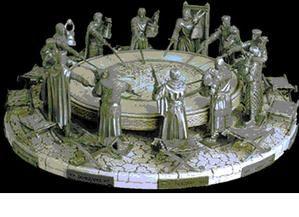 Les chevaliers de la table ronde le blog de elfina - Les noms des chevaliers de la table ronde ...