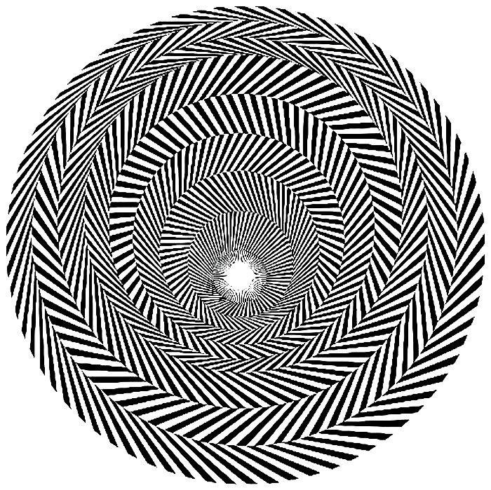Bridget Riley Blaze