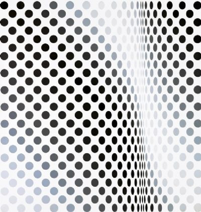 Bridget Riley Op art Queen