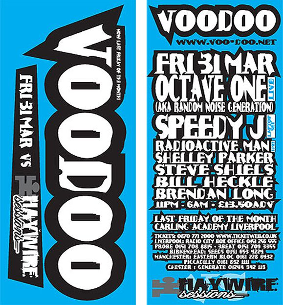 Voodoo Liverpool flyer