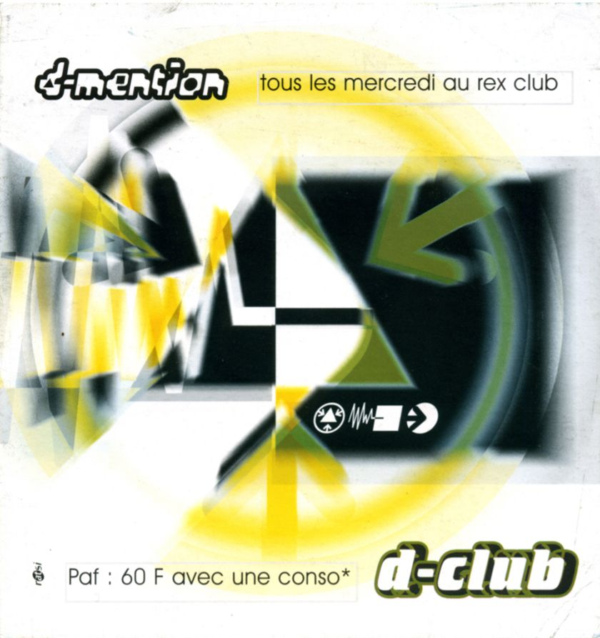 d-club d-mention Paris flyer