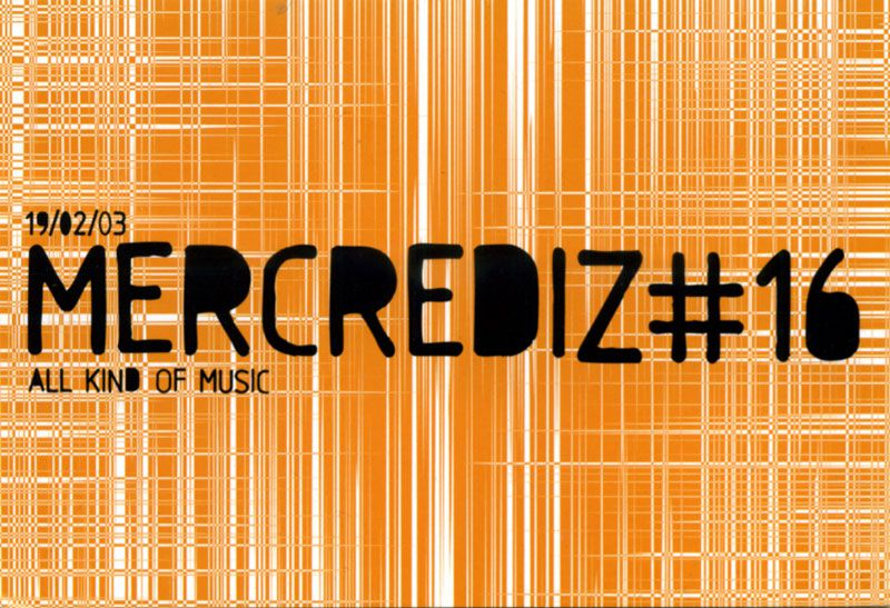 Mercrediz Paris flyer