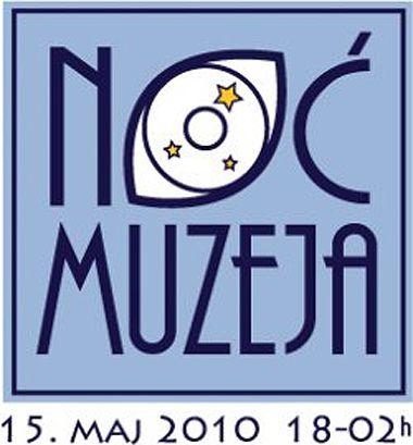 Logo serbe de la nuit des musées 2010