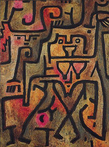 Paul Klee, Waldhexen, 1938