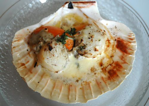Coquilles la normande cuisine non coupable - Cuisine normande traditionnelle ...