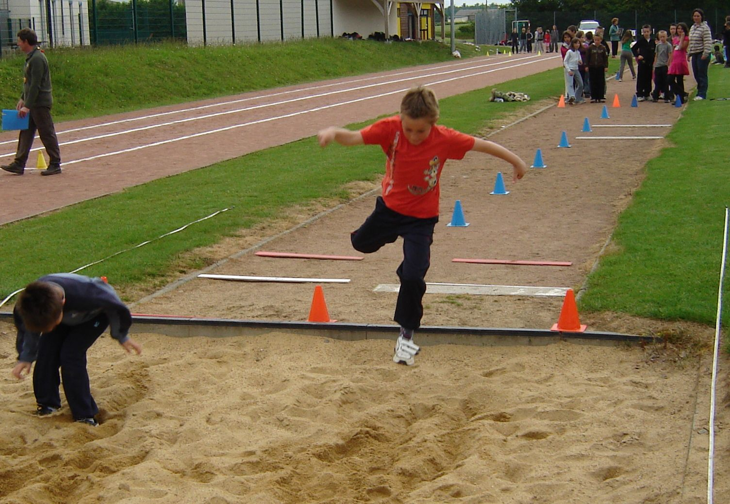 Rencontres athletisme cycle 3