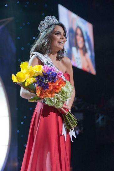 miss Univers 2010 finale Jimena Navarrete (Mexique)