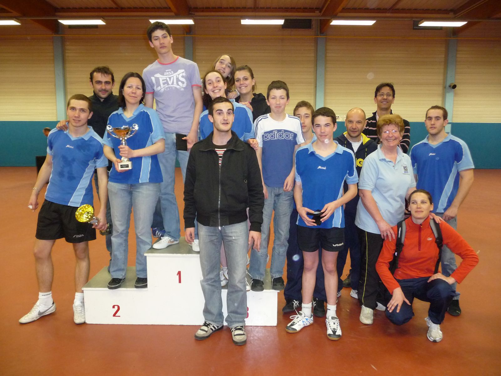 Crit rium d partemental des clubs es viry chatillon tennis de table - Club tennis de table paris ...