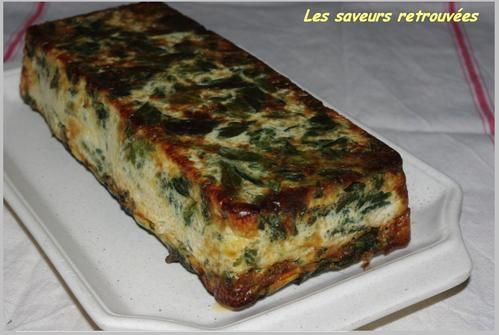 La Fameuse Terrine Ricotta épinard Les Saveurs Retrouvées - Cuisiner des epinards frais