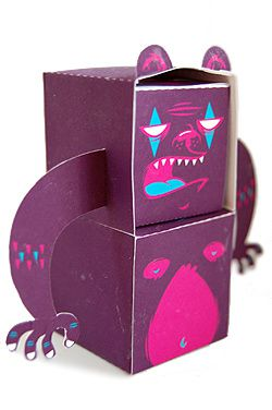 Papertoys Snake Eyes
