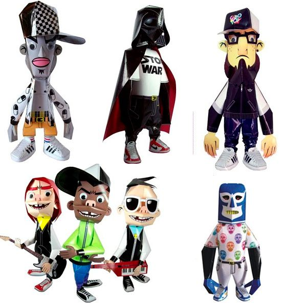 Paper Toys Cubotoy by ANGELLO GARCIA