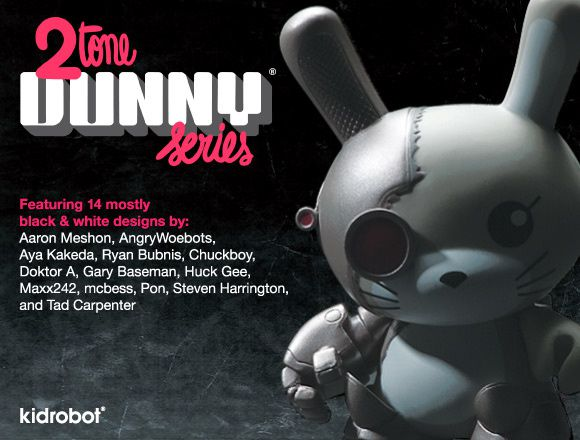 2Tone Dunny Series by Kidrobot